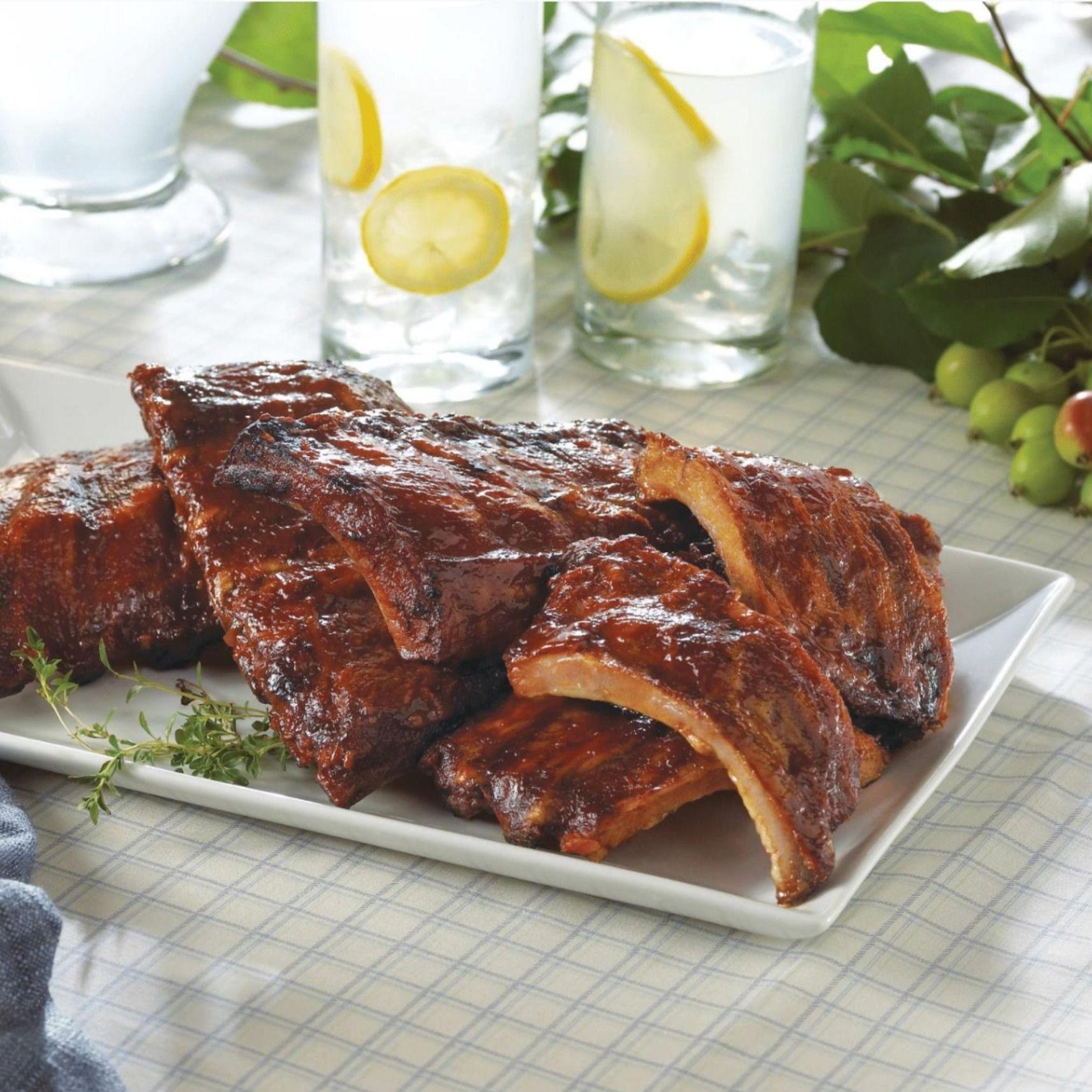 Fall Off The Bone Baby Back Ribs Pork Ribs Barbecue Pork Ribs Bbq Pork Ribs