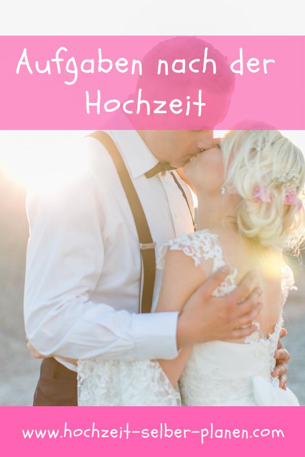 Aufgaben Nach Der Hochzeit Hochzeit Spruche Hochzeit Hochzeitsvideos