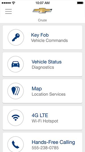 Use your RemoteLink app to view vehicle's phone number or