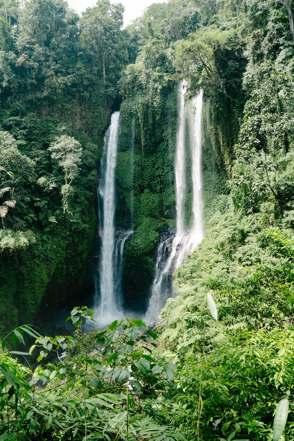 How to find the secret waterfalls in Bali Waterfall