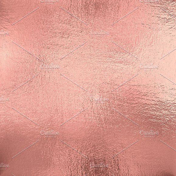 Rose Gold foil texture background by Letoosen on ...