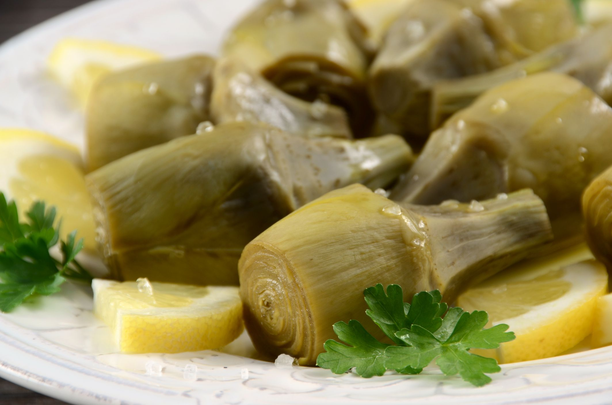 Marinated Baby Artichokes | Recipe | Artichoke, Healthy ...