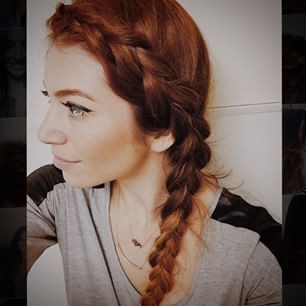 A side Dutch Braid .- start with a strong side part. Start to make a #braid following your hair line. Grab a new section of hair to your third braiding strand. This will be the farthest strand of hair from the face. Keep pulling hair from the top and side