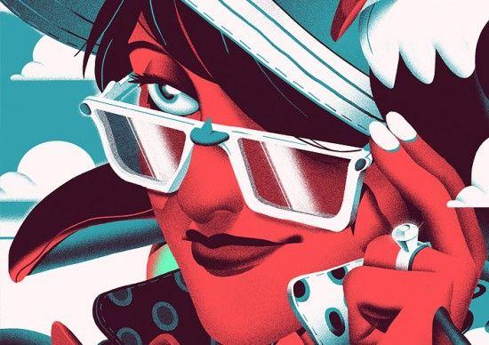 Illustrations by Nicolas Dehghani   Inspiration Grid   Design Inspiration