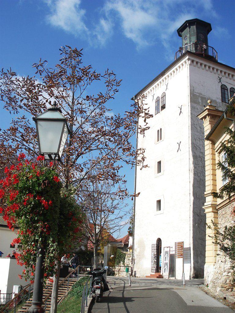Tower Lotrscak Zagreb Zagreb Croatia Zagreb Croatia