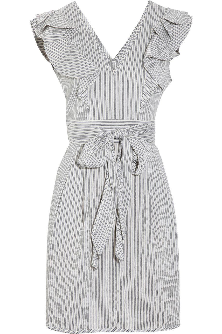 Thread Social Dress Wannahaves Dresses Seersucker Dress Seersucker
