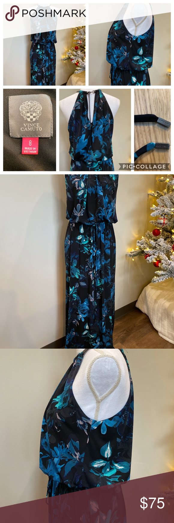 Gorgeous Vince Camuto Maxi Dress High Quality Maxi Dress Clothes Design Fashion Tips [ 1740 x 580 Pixel ]
