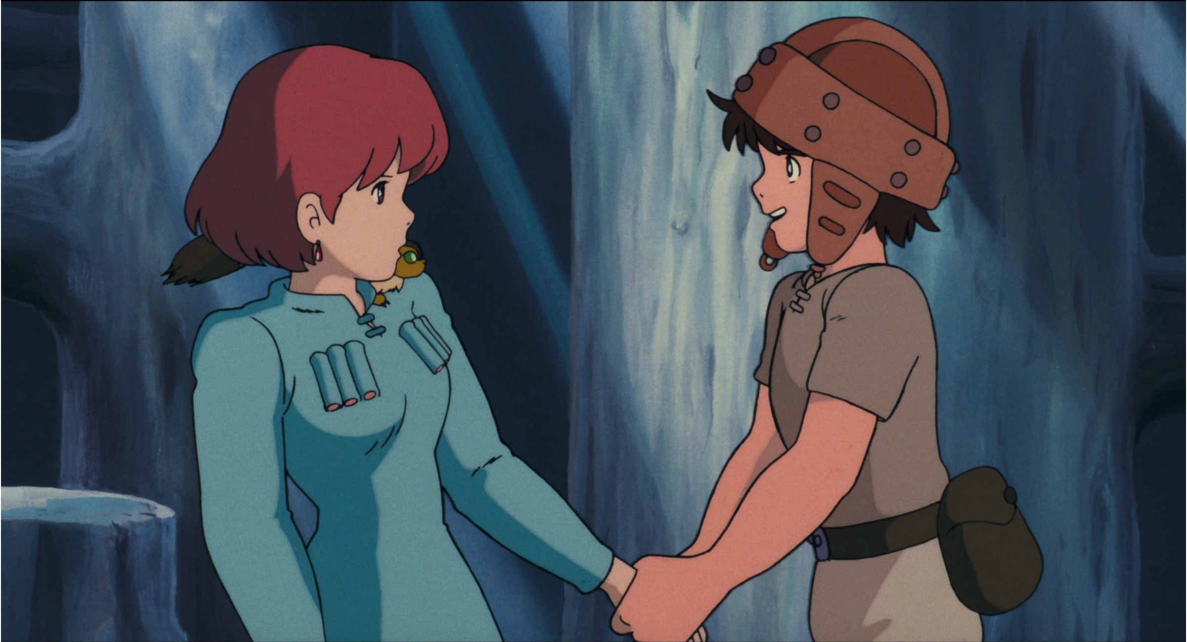 Nausicaa and Asbel's first meeting Studio ghibli, Ghibli