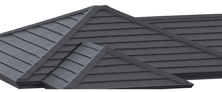 Monier Horizon Concrete Roof Tile In Barramundi Concrete