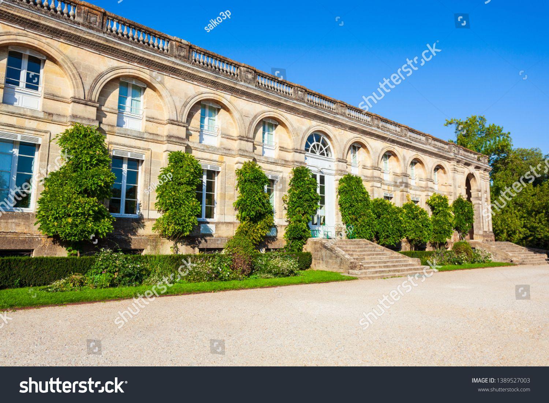 Building In Bordeaux Public Garden Or Jardin Public De Bordeaux In