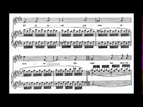 Ernest Chausson Poème De Lamour Et De La Mer Op 19