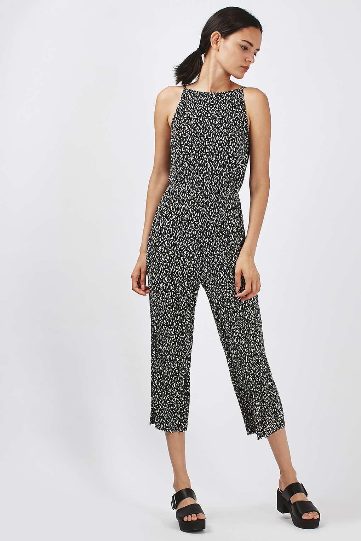 e315419ffcd PETITE Geo Plisse Jumpsuit - Rompers   Jumpsuits - Clothing ...