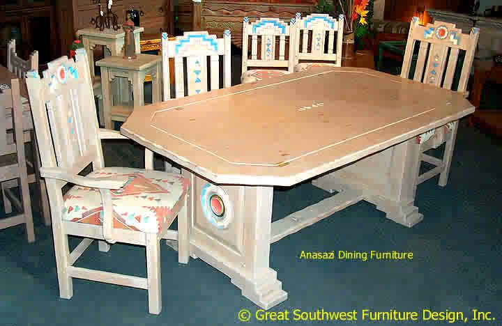 Anasazi Southwest Dining Furniture Furniture Southwest