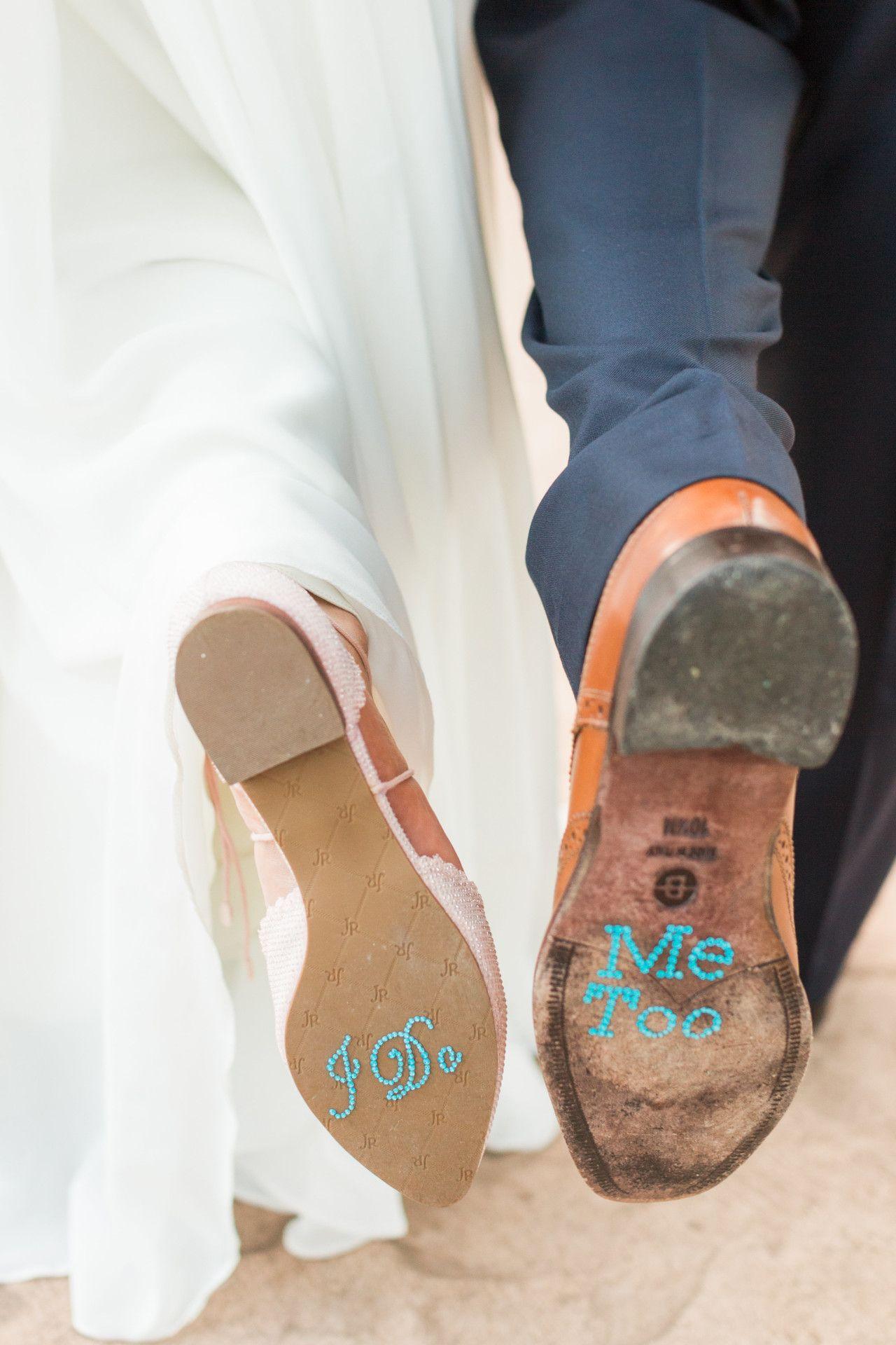89d2ed10cf DIY wedding ideas | wedding shoe sticker ideas |