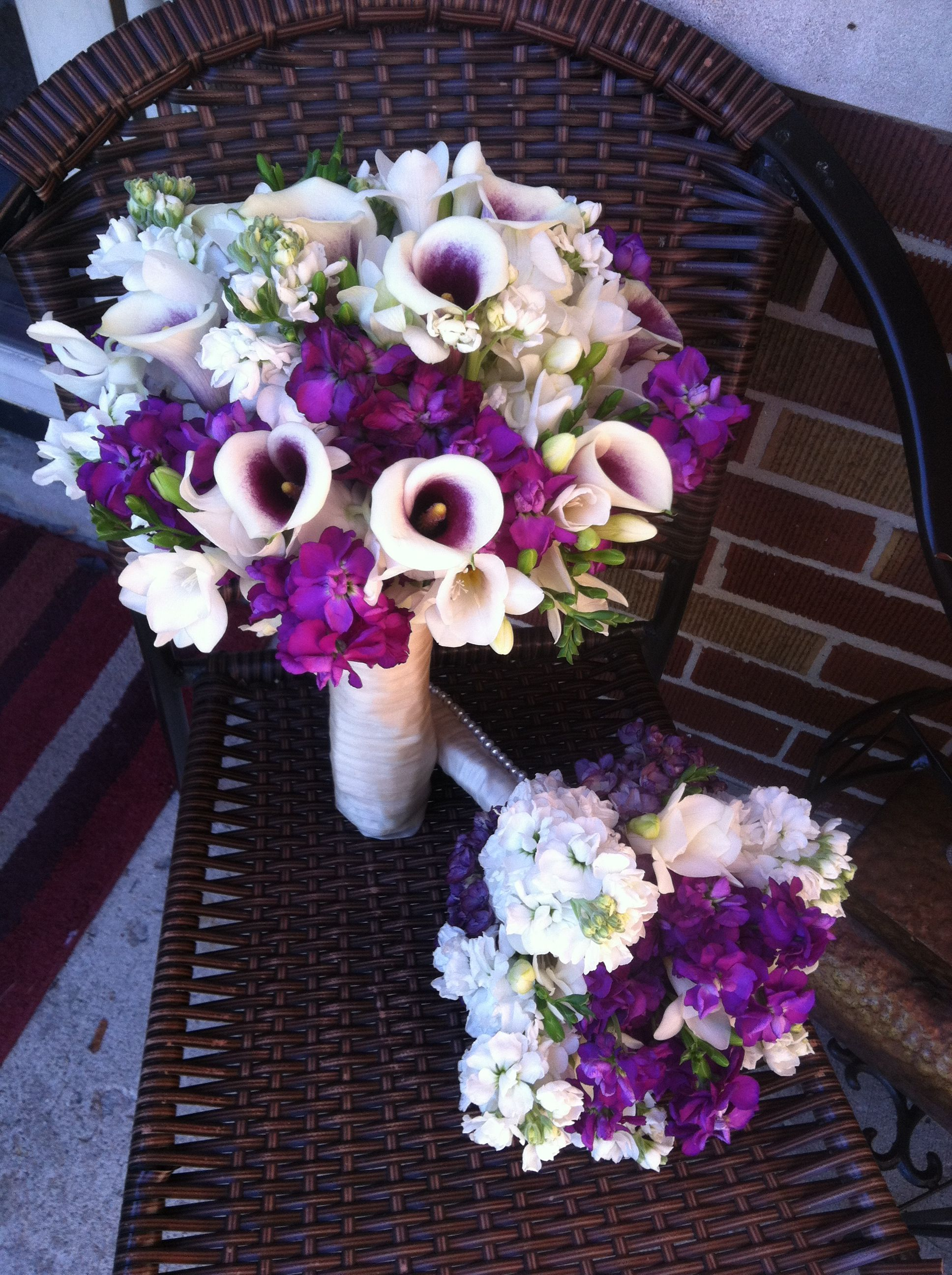 Purple And White By Patricia St Marys Ohio Wedding