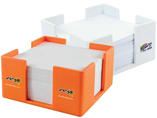 Paper Cube At Office Accessories Ignition Marketing Corporate