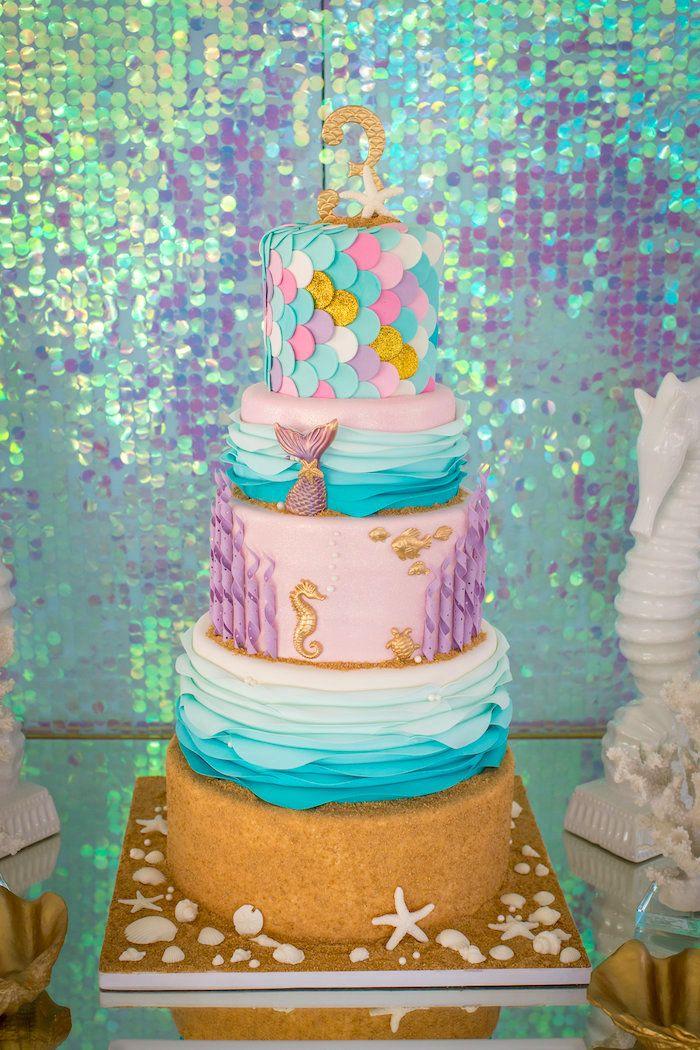 Mermaid Cove Birthday Party Mermaid Birthday Party Ideas