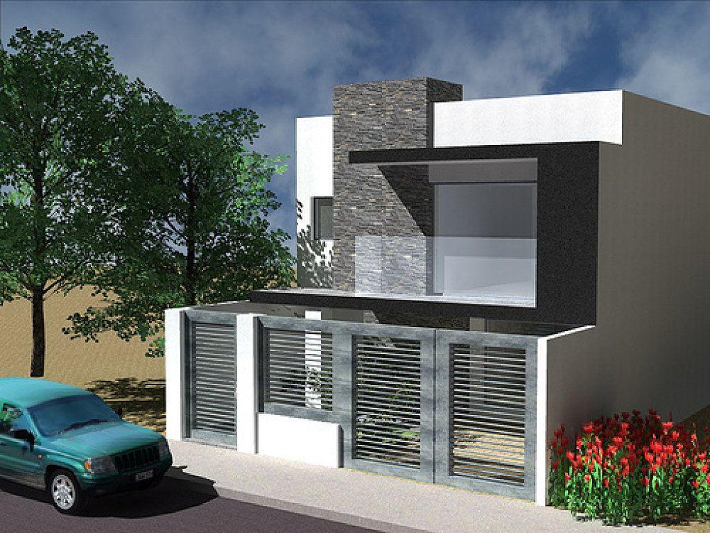 Fachadas buscar con google tendencias en 2019 casas for Modelos de casas minimalistas de dos plantas