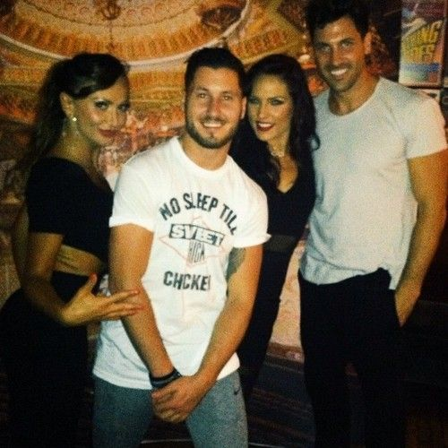 Karina,Val,Sharna and Maks in Seattle . (2014)