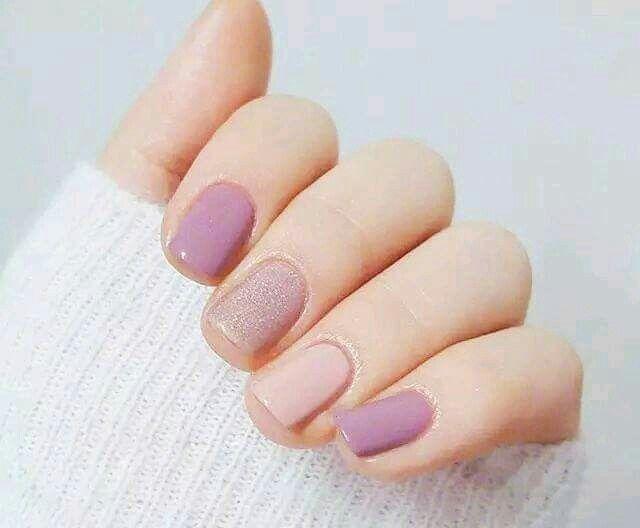Morado | Uñas | Pinterest | Diseños de uñas, Manicuras y Arte de uñas