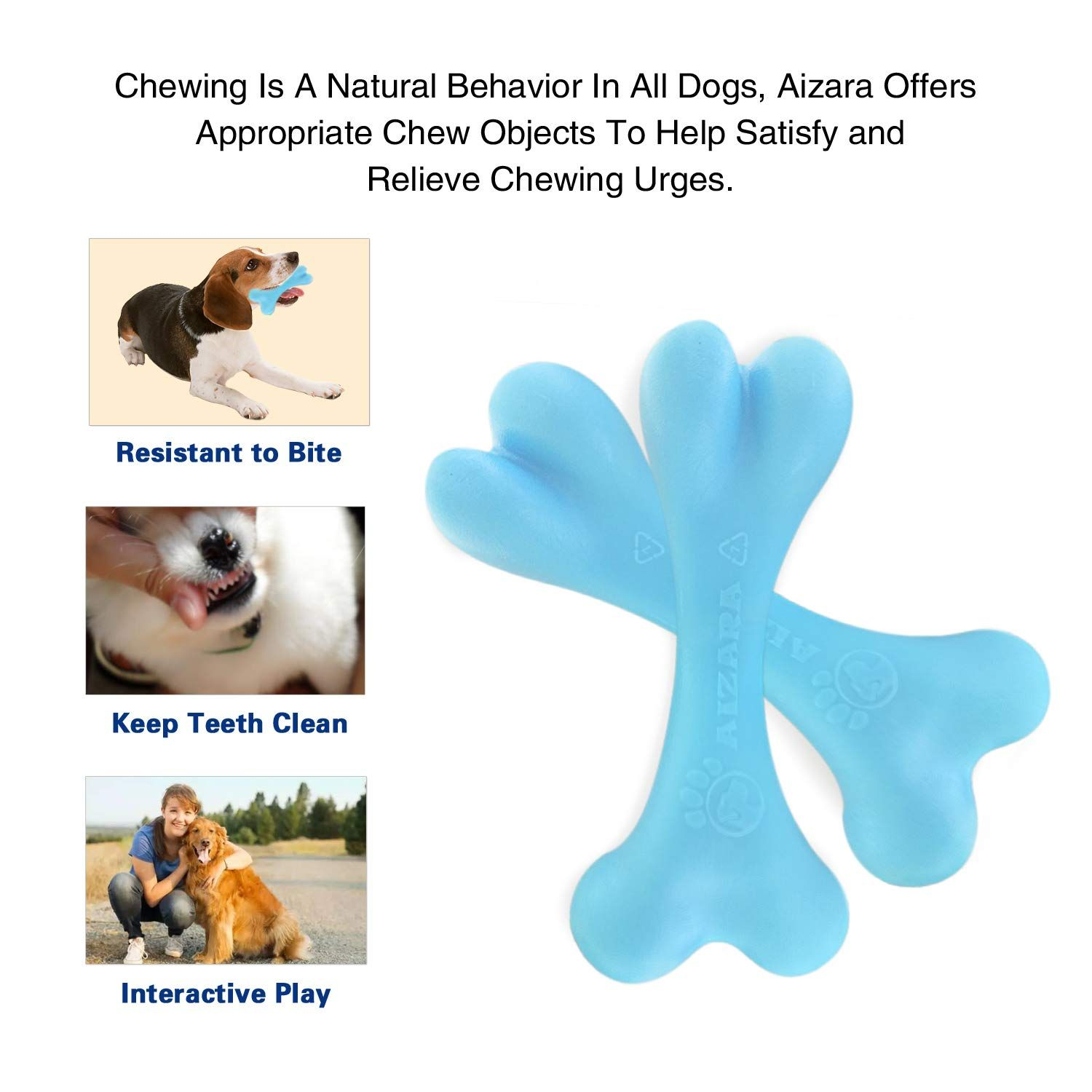 Chew Toys Tough Dog Chews Toy For Aggressive Chewers
