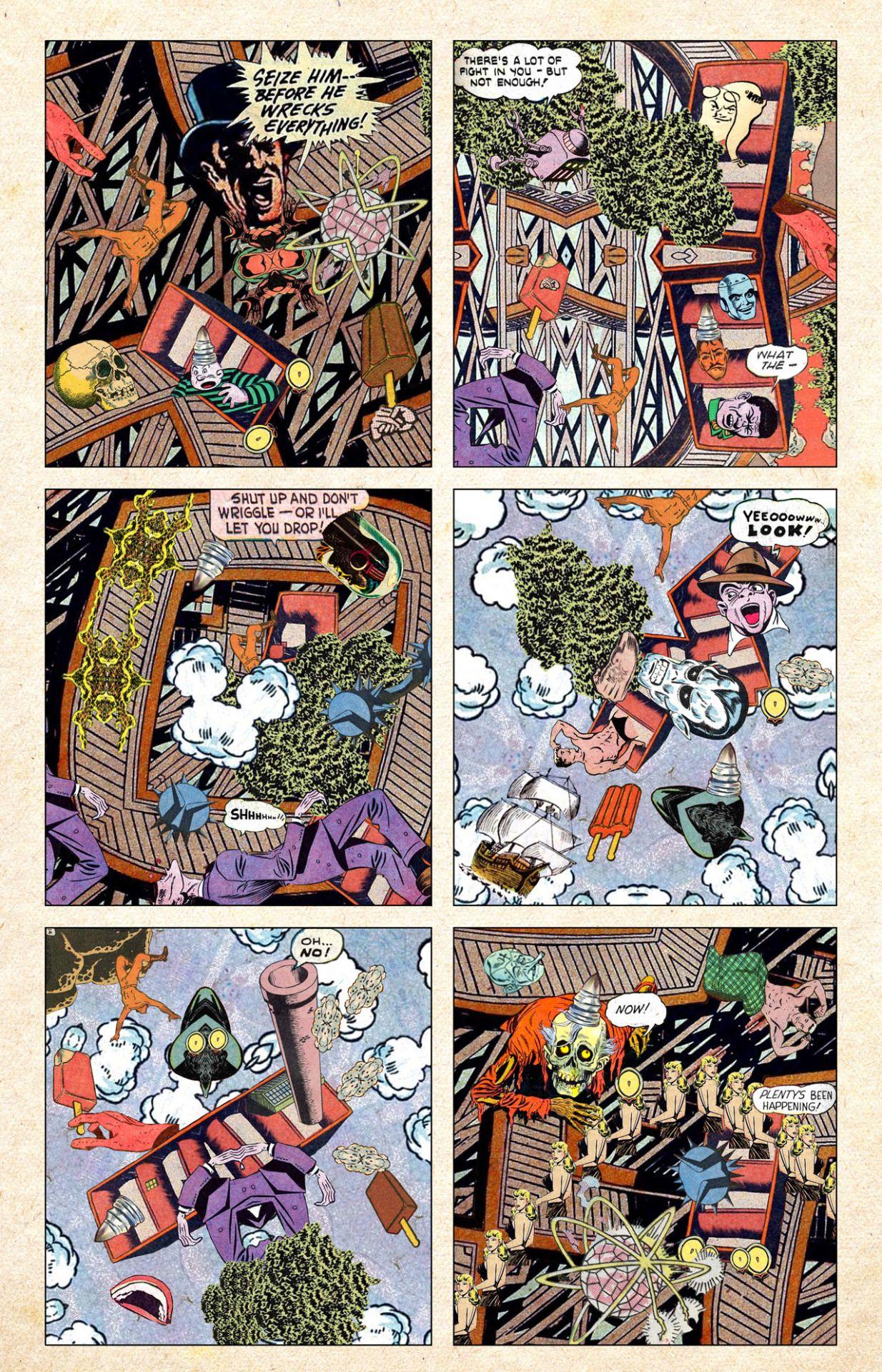 Samplerman All art, Art, Comics