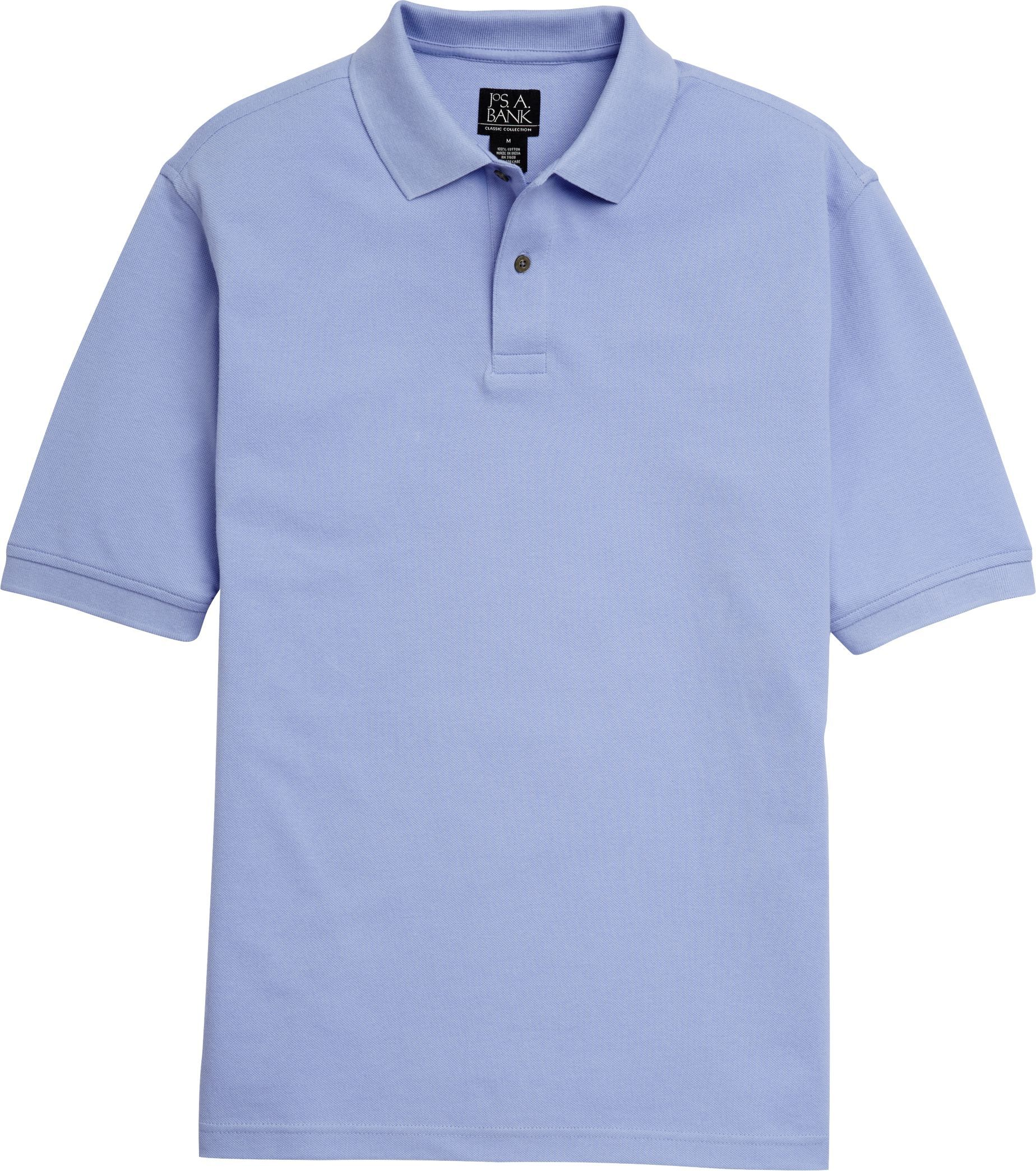 Traditional wedding decor blue and white  Classic Collection Traditional Fit Pique Polo Shirt  Big u Tall