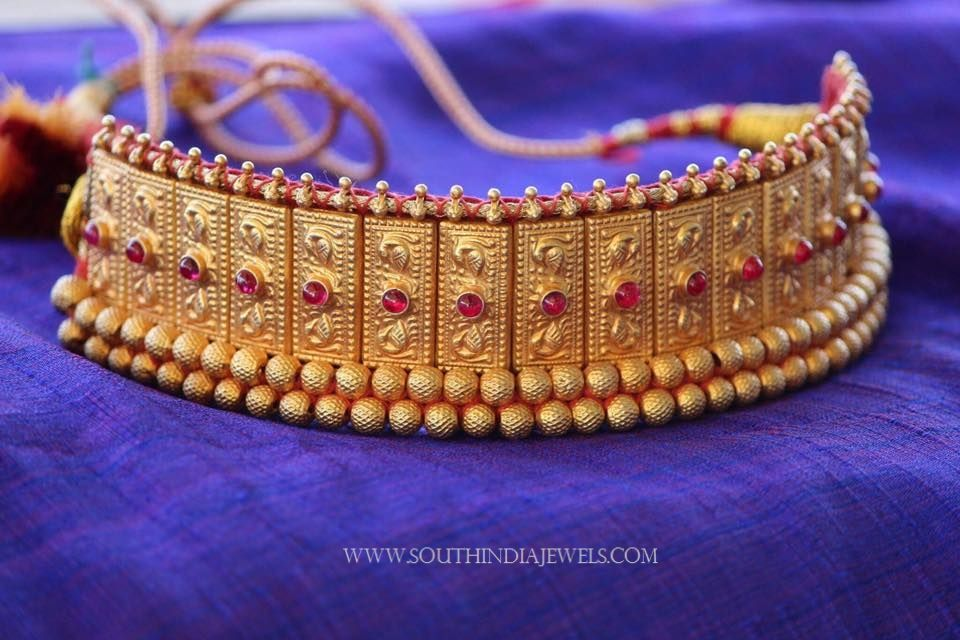 14394fc8c7ac5 Gold Plated Thushi Necklace | Choker Necklace Designs | Jewelry ...