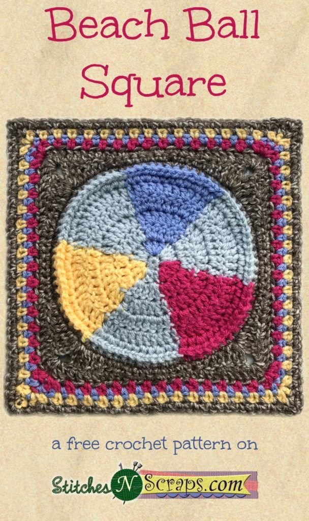 Block #7 in the Moogly Afghan Crochet Along for 2017 - courtesy of ...