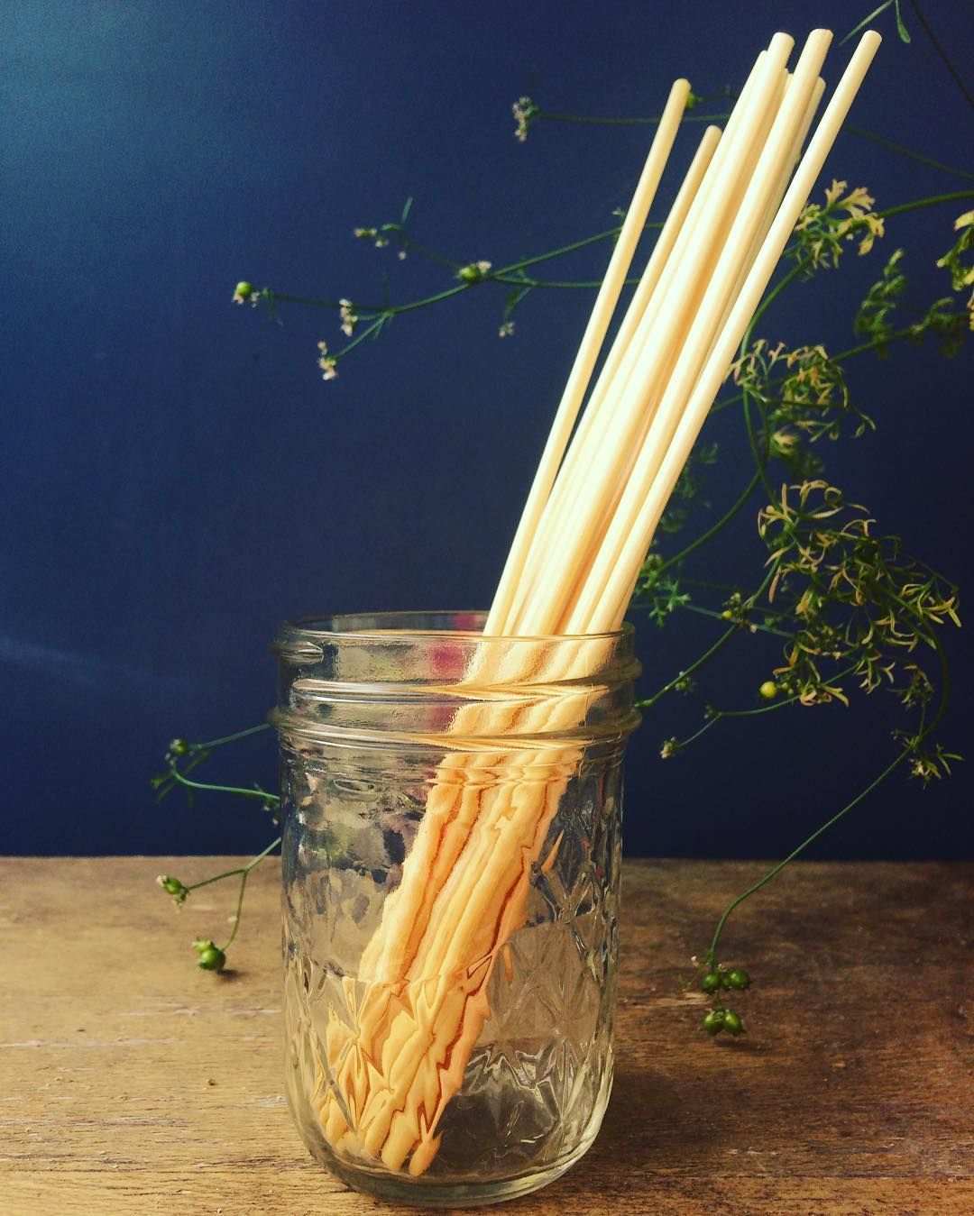 Disposable, biodegradable straws made of... straw! by Passionately Raw…