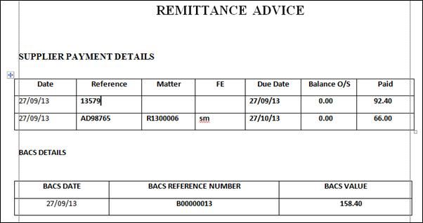 Remittance Template | 10 Free Remittance Advice Templates Word Excel Pdf Templates