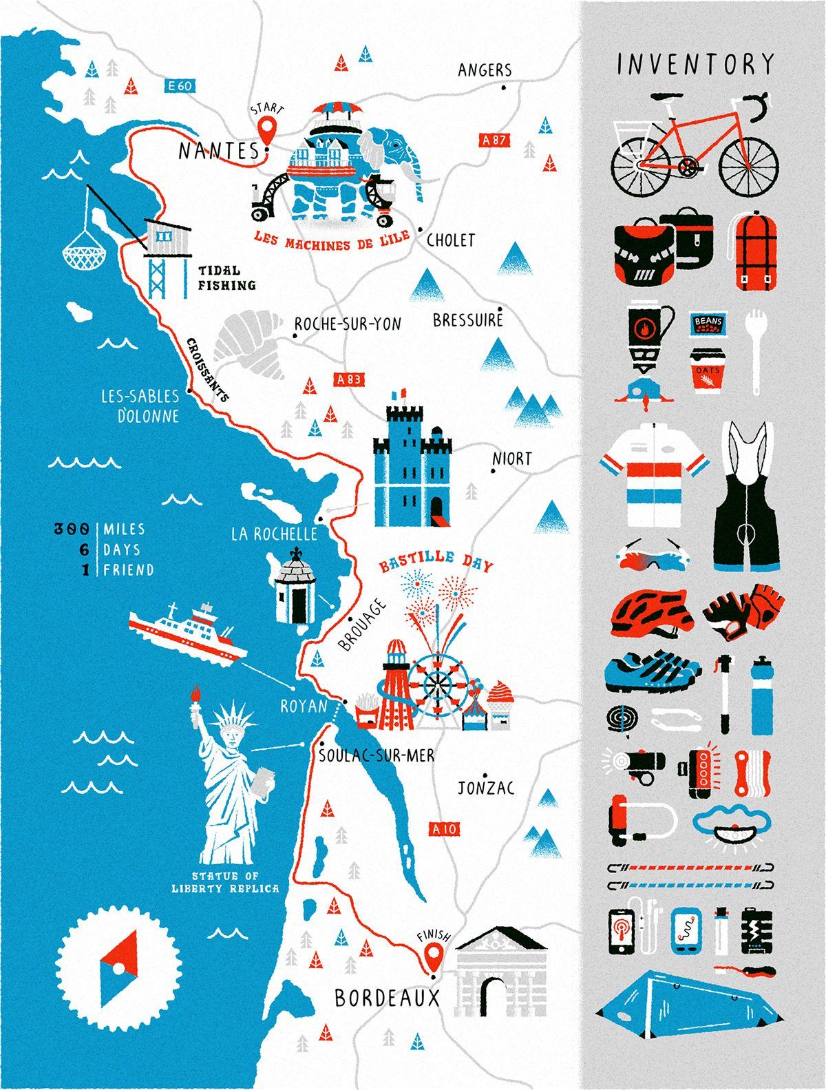 Stuart Hill Illustration - Art of the Map | art and design | Map ...
