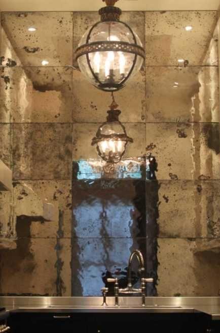 My crush on Antique Glass Mirrors!!! | Antique mirror ...