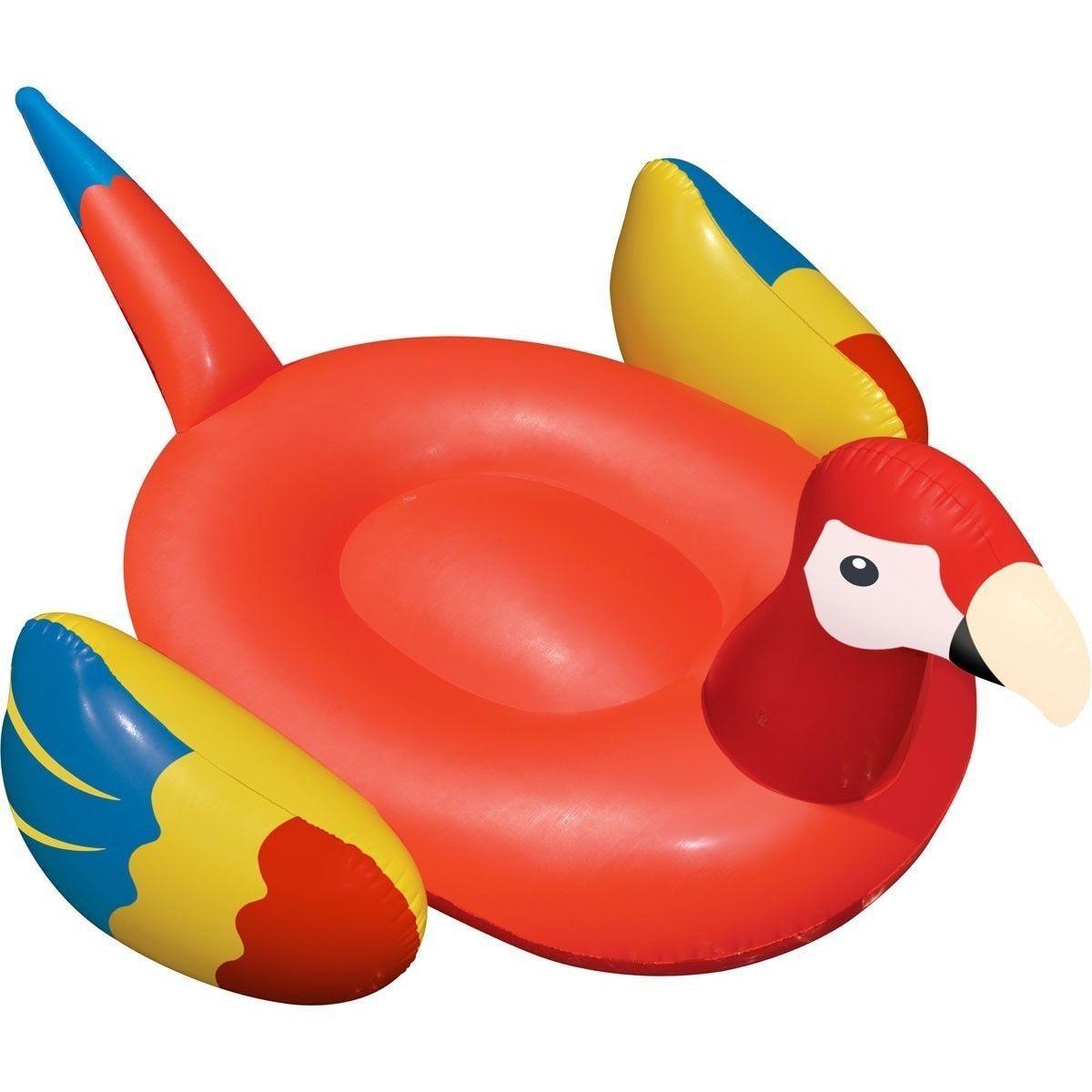 Swimline Giant Parrot Inflatable Float