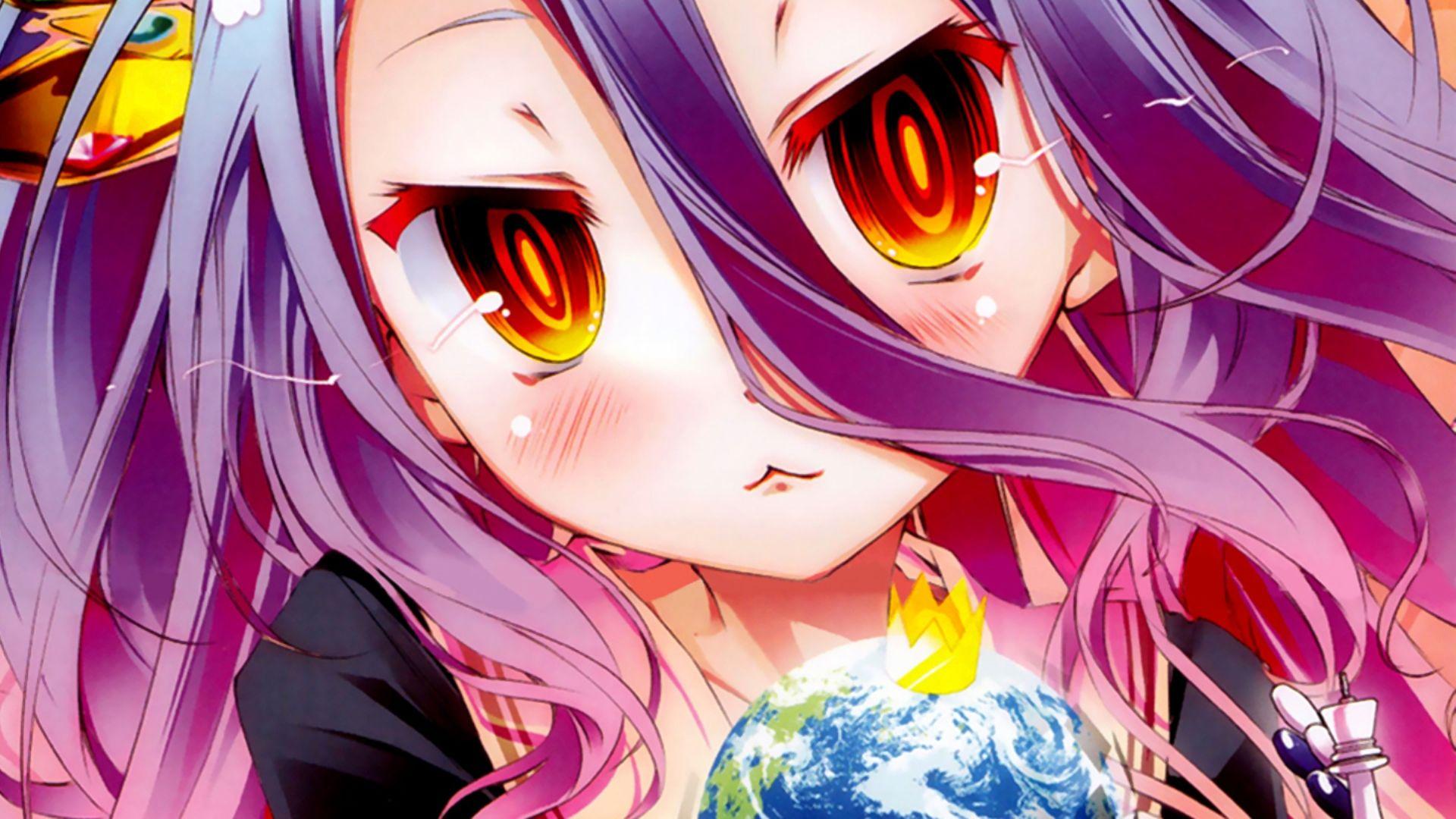 No Game No Life Shiro Hd Wallpaper No Game No Life Anime Animated Wallpapers For Mobile