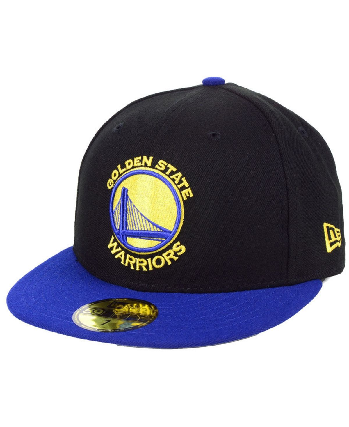 New era golden state warriors basic 2 tone 59fifty fitted