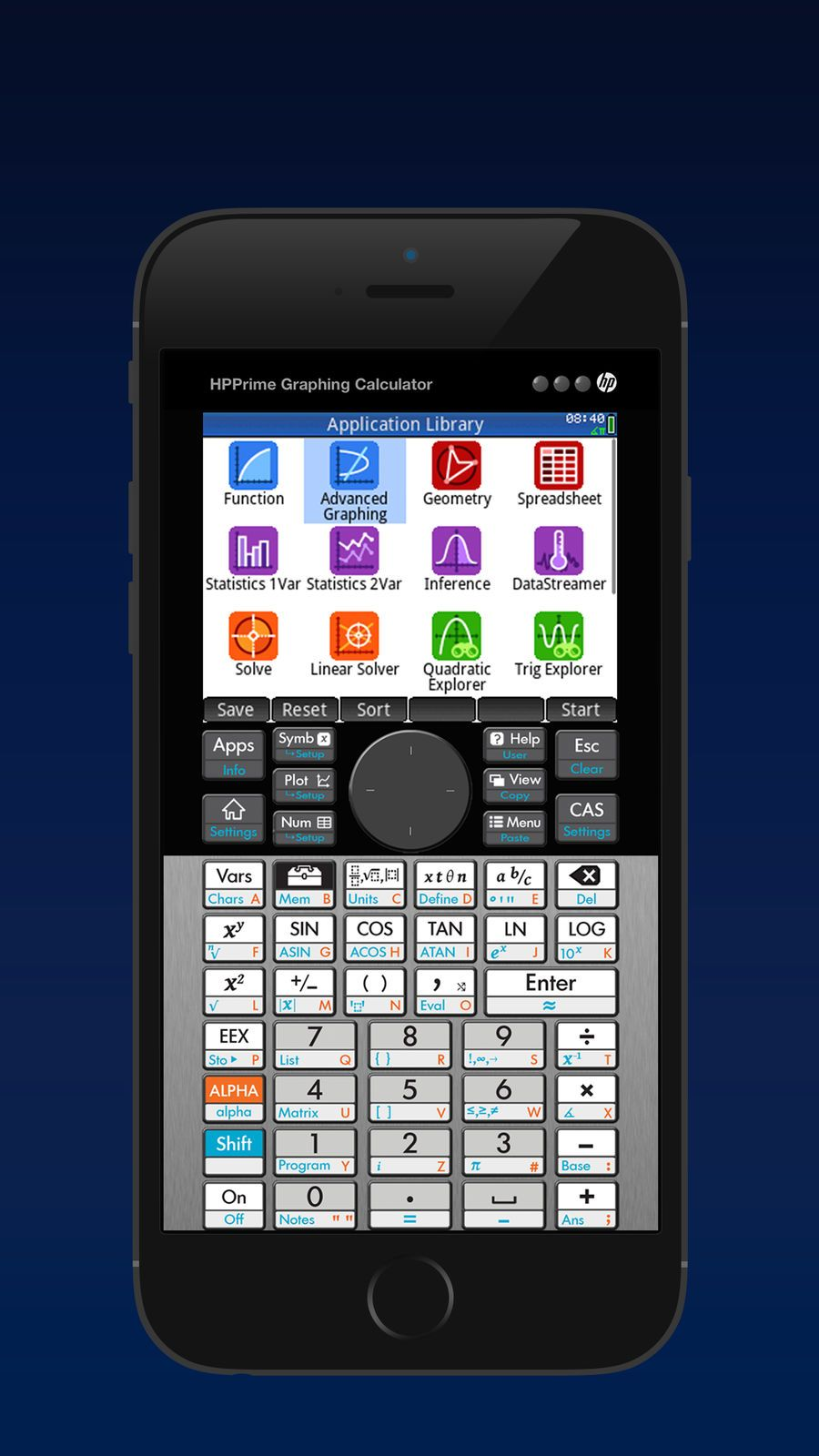 HP Prime Pro iosProductivityappapps Graphing