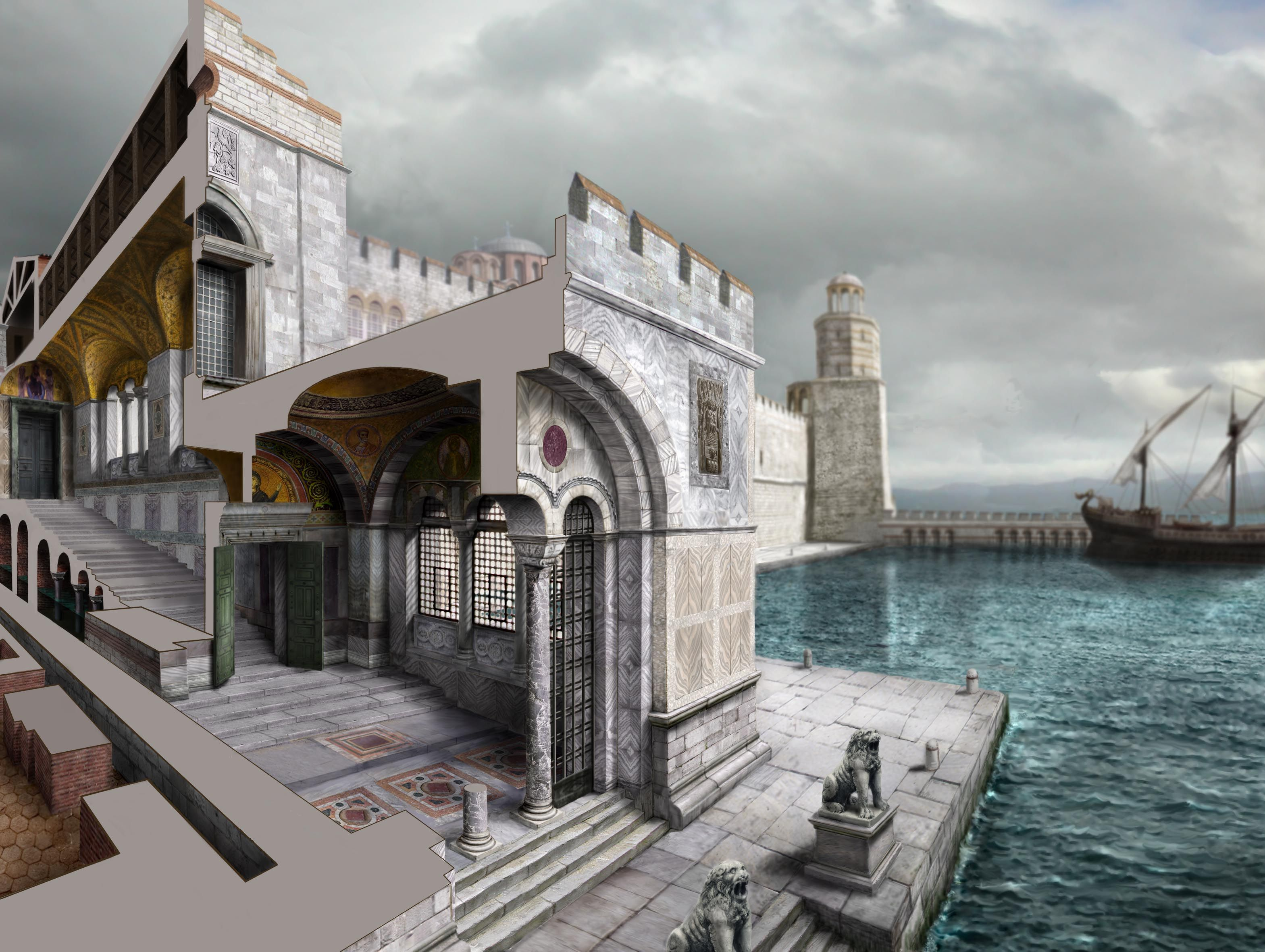 картинки византии в древности территории
