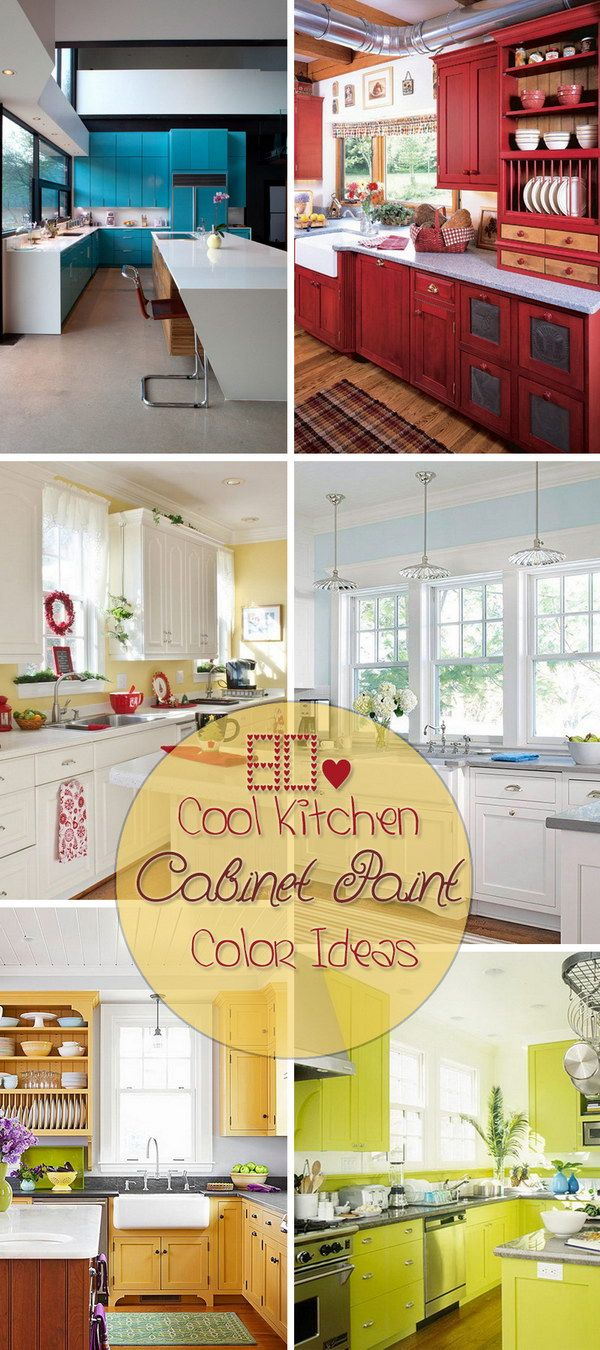 cool kitchen cabinet paint color ideas cabinets pinterest