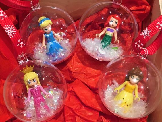 Disney Frozen Elsa /& Anna Princess Custom Mini Figure fits minifig Action Figure