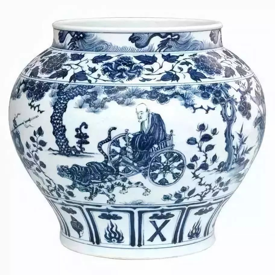 It is thought that porcelain was invented about the time