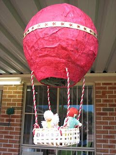 Papier-mâché Hot Air Balloons