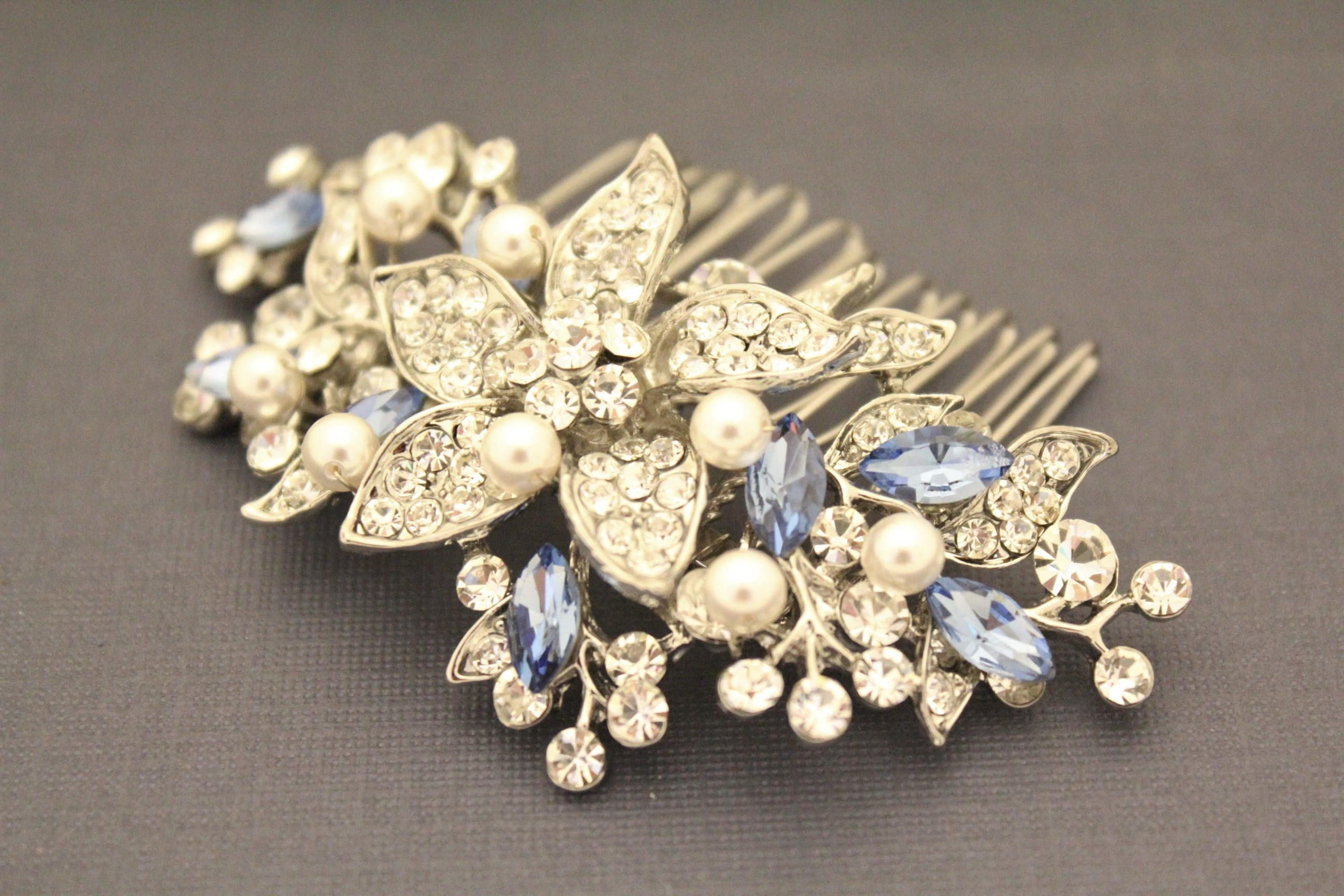Pin by rosemary bridal on bridal hair comb pinterest hair combs