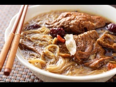 素食食譜-素食當歸麵線 : 一起愛台灣