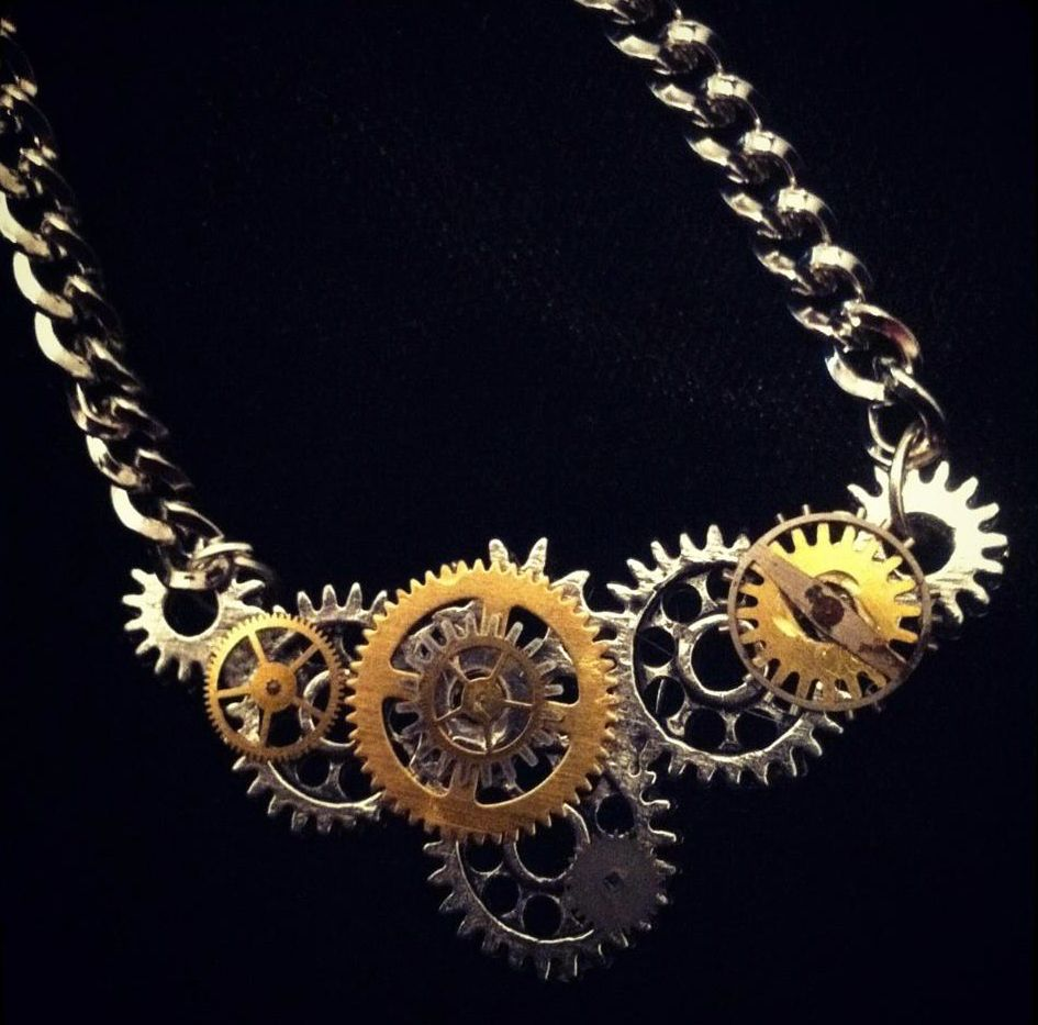 Is Steampunk Jewelry A Craft Or An Art: Messy Crafts: Jewelry