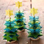 Filz-Fädelei Baum, Bastelset für 5 Girlanden » JAKO-O