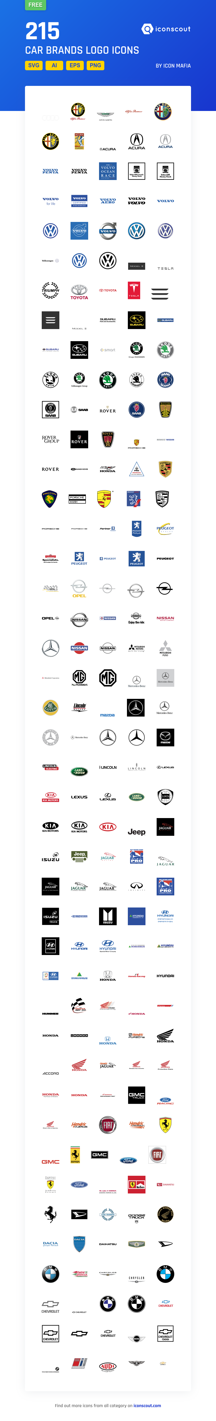 Download Car Brands Logo Icon Pack Available In Svg Png Eps Ai Icon Fonts Car Brands Logos Icon Icon Pack