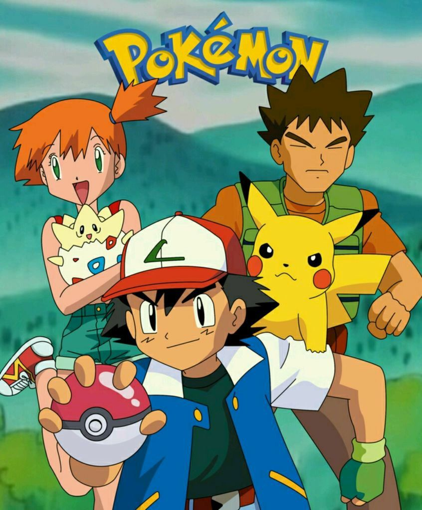 Pokemon In 2020 Pokemon Ash And Misty Pikachu Pokemon
