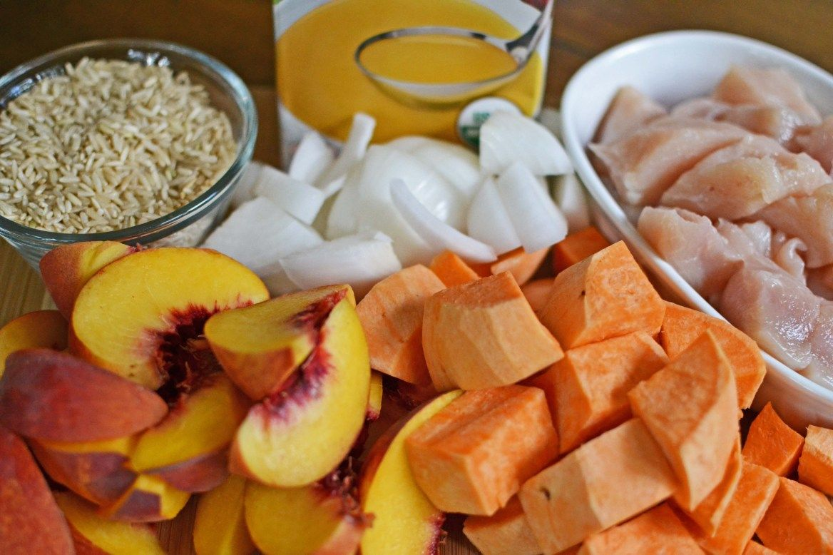 Baby chicken stew food for mackenna pinterest baby chickens homemade baby food recipe baby chicken stew with peaches sweet potatoes and brown rice forumfinder Gallery