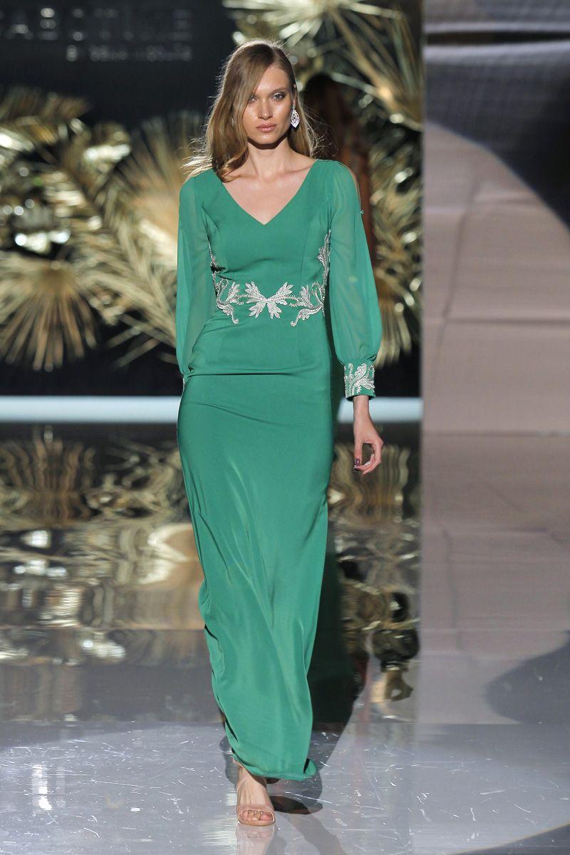 Vestidos de fiesta verdes: Resalta tu belleza en la próxima boda ...